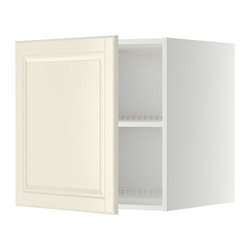 МЕТОД Верх шкаф на холодильн/морозильн - 60x60 см, Будбин белый с оттенком, белый