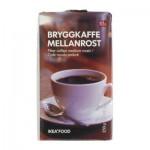 BRYGGKAFFE MELLANROST Фильтров кофе, средней обжарки