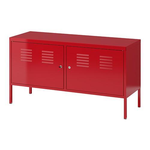 ИКЕА ПС Шкаф - красный