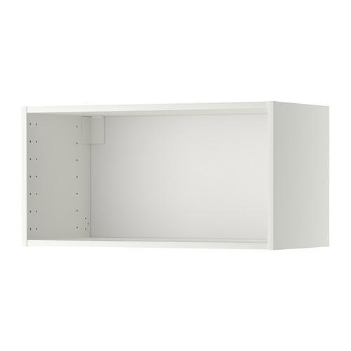 МЕТОД Каркас навесного шкафа - белый, 80x37x40 см