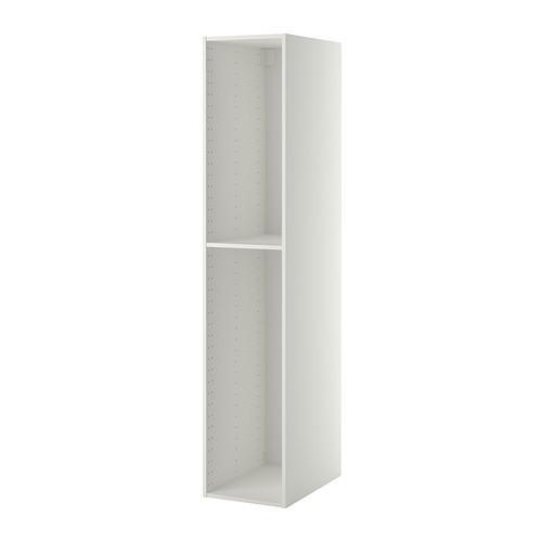 МЕТОД Каркас высокого шкафа - 40x60x200 см, белый