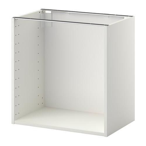 МЕТОД Каркас напольного шкафа - 60x37x60 см, белый