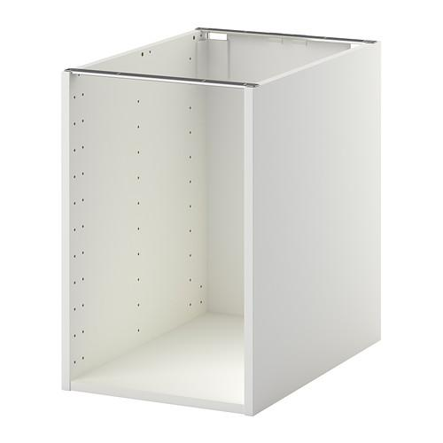 МЕТОД Каркас напольного шкафа - 40x60x60 см, белый