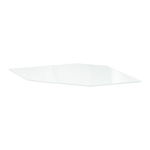 УТРУСТА Полка углового шкафа - стекло