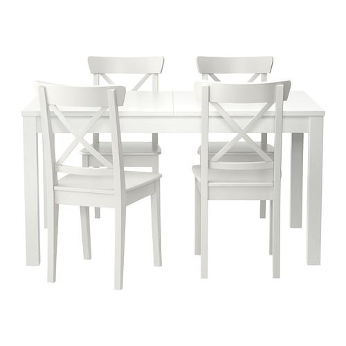 Excellent Ingolf Bjursta Table And 4 Chair White 299 282 64 Pdpeps Interior Chair Design Pdpepsorg