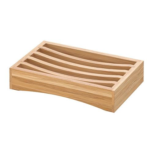 Porta sapone DRAGAN bambù 8.4 cm