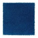ХАМПЭН Ковер, длинный ворс - ярко-синий