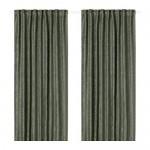 FRITSE curtains, 1 pair white