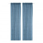 AINA curtains, 1 pair blue