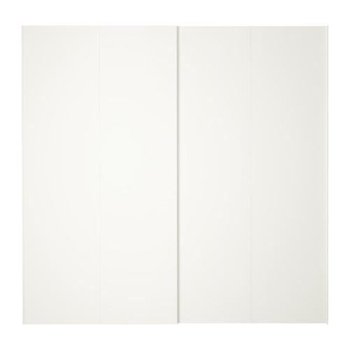 ХАСВИК Пара раздвижных дверей - 200x201 см
