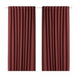 ANNAKAJSA curtains blocking light, 1 a pair of white