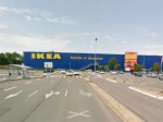 IKEA Lille - the address of the store, the location on the map
