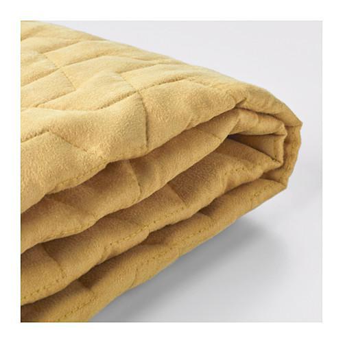 ЛИКСЕЛЕ Чехол на 2-местный диван-кровать - Валларум желтый, Валларум желтый