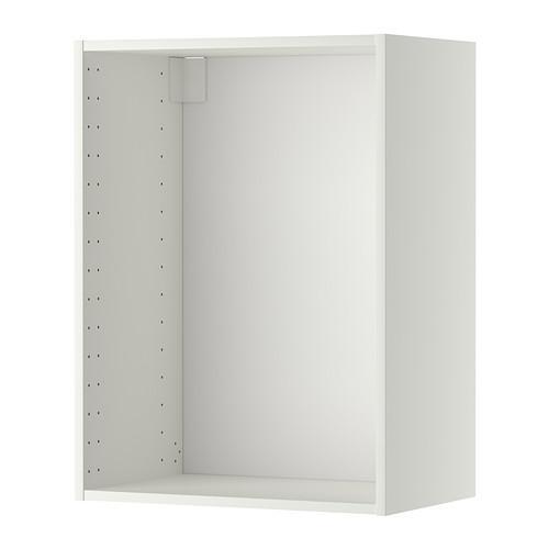 МЕТОД Каркас навесного шкафа - белый, 60x37x80 см