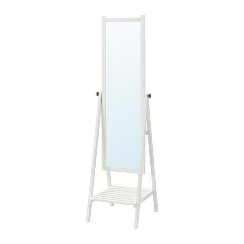 ИСФЬЁРДЕН Зеркало - белая морилка