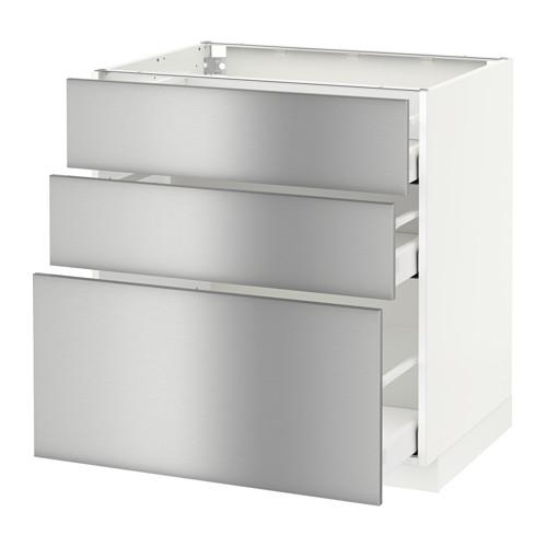 Allure Flooring Ikea Cabinets And Ikea Cupboards: METHOD / MAXIMER Floor Cabinet With 3 Drawer