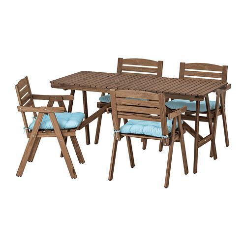 Ikea Eettafel 4 Stoelen.Falholmen Tafel 4 Stoelen D Tuin 692 867 74 Reviews