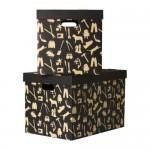 ХОБУЛЬ Коробка с крышкой - 56x37x36 см