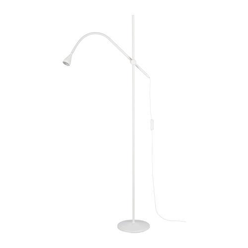DELAKTIG LED gulvlampe (003.965.86) anmeldelser, pris