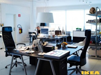 Office interior IKEA
