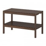 MOLGER Bench - Dark Brown