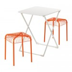 GERO / VESTERON Garden Table + 2 stool