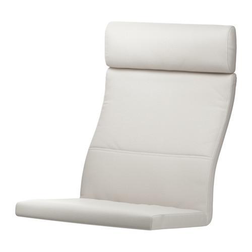 ПОЭНГ Подушка-сиденье на кресло - Финнста белый, Финнста белый