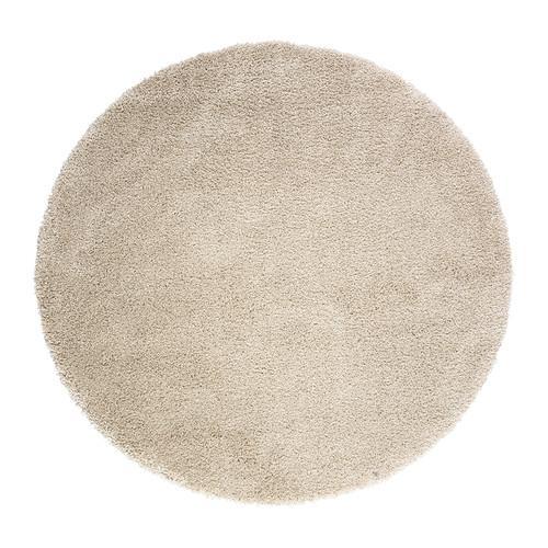 Alfombra ÅDUM, pila larga blanca con un toque de 130 cm