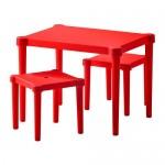 УТТЕР Детский стол и 2 стула -