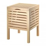 MOLGER Stool-box - birch