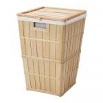 BRANKIS Kosz na śmieci z podszewką
