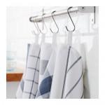 ELLY kjøkkenhåndkle hvit / blå