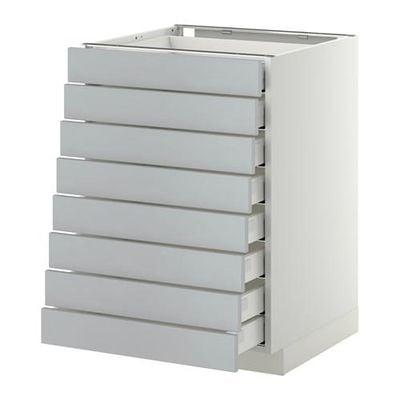 Methode Maksimera A Vullen Kast Voor 8 8 Lage Box 60x60 Cm Wedding Grijs Wit