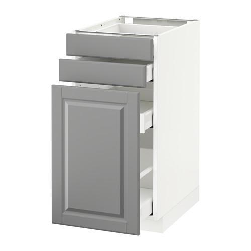 МЕТОД / МАКСИМЕРА Нплн шк с вдв мдл/2 фрнт - 40x60 см, Будбин серый, белый