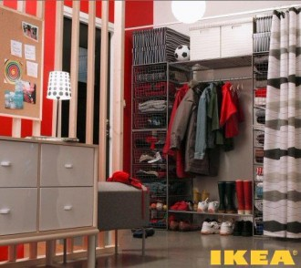 IKEA pasillo interior