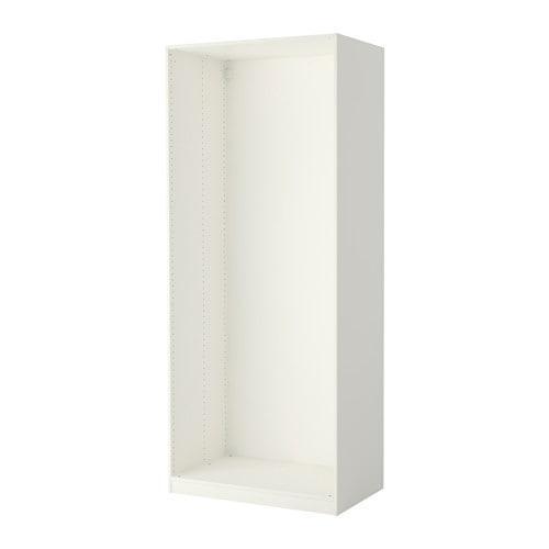 ПАКС Каркас гардероба - белый, 100x58x236 см