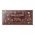 CHOKLAD MÖRK 70% Dark Chocolate 70% UTZ-sertifikat