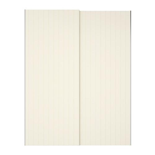 БЕРГСФЬЁРД Пара раздвижных дверей - 150x236 см