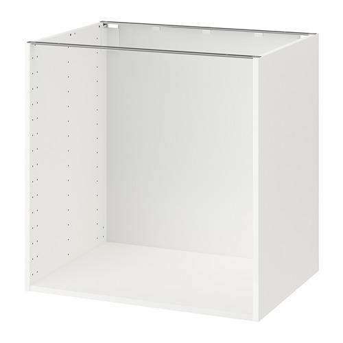 МЕТОД Каркас напольного шкафа - 80x60x80 см, белый
