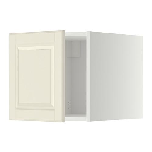 МЕТОД Верхний шкаф - Будбин белый с оттенком, белый
