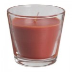 ТИНДРА Ароматическая свеча в стакане