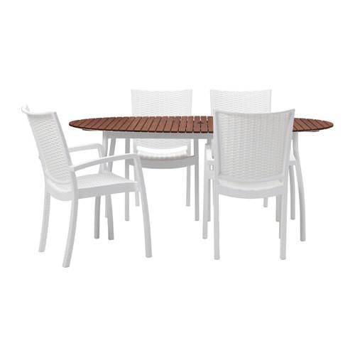 ВИНДАЛЬШЁ / ИННАМУ Стол+4 кресла, д/сада