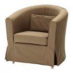 ЭКТОРП ТУЛЬСТА Чехол кресла - Идему светло-коричневый