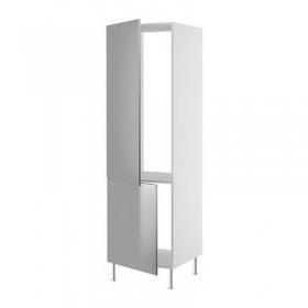 ФАКТУМ Высок шкаф д холодильн/мороз - Рубрик нержавеющ сталь