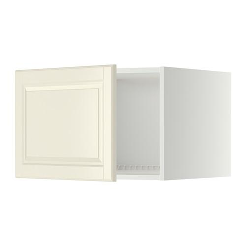 МЕТОД Верх шкаф на холодильн/морозильн - 60x40 см, Будбин белый с оттенком, белый