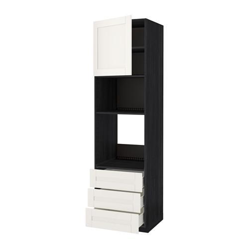 methode forvara hochschrank backofen mikrowelle t r 3 unter dem baum schwarz. Black Bedroom Furniture Sets. Home Design Ideas