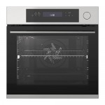 KULINARISK oven met heteluchtblazer en funkkop zwart