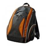 УПТЭККА Рюкзак - темно-серый/желто-оранжевый