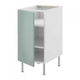 FAKTUM Base cabinet with shelves - Rubrik light turquoise Aplod, 40 see