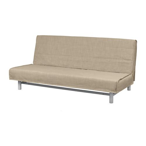 БЕДИНГЕ Чехол на 3-местный диван-кровать - Исунда бежевый, Исунда бежевый